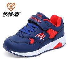 彼得潘秋冬新款儿童休闲跑步鞋学生时尚潮鞋男童运动鞋P868