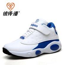 彼得潘童鞋 男童鞋春秋款潮大童高帮学生运动鞋青少年篮球鞋P253