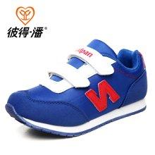 彼得潘童鞋 男童鞋春秋款休闲鞋潮流女童鞋子板鞋男童运动鞋P630