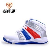彼得潘童鞋 男童鞋春秋款大童学生鞋儿童运动鞋户外青少年篮球鞋P083