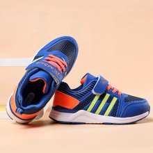 小叮当男童运动鞋新品韩版简约儿童运动鞋中童学生鞋潮D683755