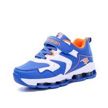 彼得潘男童运动鞋秋季新款儿童跑步鞋中大童篮球鞋减震弹簧鞋P558