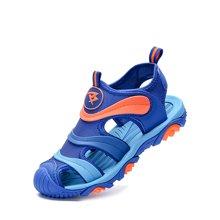 彼得潘童鞋宝宝包头凉鞋夏季新款小学生男童韩版儿童沙滩鞋潮P8029