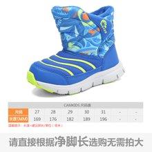 camkids垦牧童鞋儿童棉靴冬季新款男童防滑小童雪地靴
