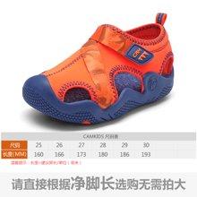 camkids垦牧儿童鞋夏季新款男童凉鞋中小童女童沙滩鞋防滑