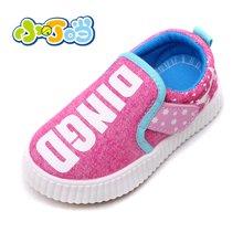 小叮当男女婴帆布鞋秋季新款透气网布鞋儿童学步鞋潮SLW60307