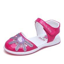 HELLO KITTY童鞋女童凉鞋镂空包头闪亮鞋头凉鞋公主鞋K7625823