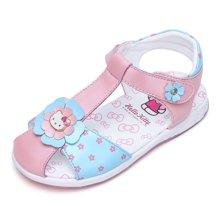 HELLO KITTY童鞋女童凉鞋夏款可爱风五叶草凉鞋公主鞋K7625822