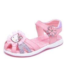 HELLO KITTY童鞋女童凉鞋包头夏季新款公主凉鞋儿童沙滩鞋K7625820