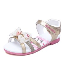 HELLO KITTY童鞋女童凉鞋露趾夏季新款儿童沙滩鞋公主鞋女孩K7625813
