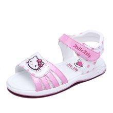 HELLO KITTY童鞋凯蒂猫女童公主凉鞋夏季新款女孩露趾凉鞋沙滩鞋K7625811