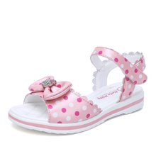 HELLO KITTY童鞋女童凉夏款露趾凉鞋公主鞋沙滩鞋K7625819