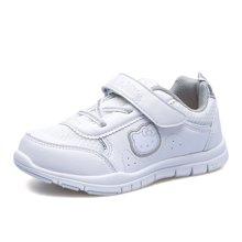 HelloKitty童鞋女童运动鞋2018春季新款儿童小白鞋学生休闲鞋K632Y40+K632Y30
