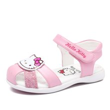 hellokitty女童鞋儿童凉鞋公主包头凉鞋2018夏季新款花朵凉鞋女K8525815