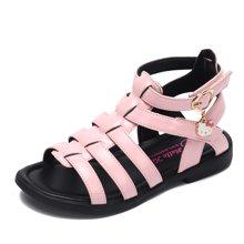 HELLO KITTY童鞋女童凉鞋2018夏季新款公主凉鞋露趾防滑女孩凉鞋K8623803