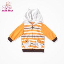 丑丑婴幼 春季新款男宝宝连帽外套 男童春款针织外套 CGE601X