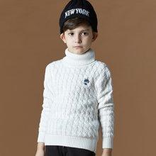 迪斯兔/disitu男童毛衣打底衫中大童纯棉针织衫儿童上衣线衫秋冬新品M1503