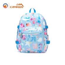 camkids垦牧书包小学生女童双肩包1-2年级儿童小女孩幼儿园背包