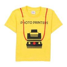 【Cottonshop棉店】一件包邮 男童短袖T恤 小火车印花 男孩夏季T恤 吸汗透气干爽