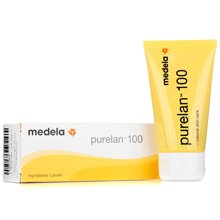 Medela美德乐瑞士进口纯羊脂膏37g乳头霜龟裂膏护乳008.0010
