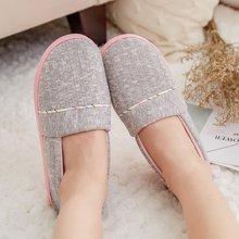 婧麒月子鞋秋冬季加厚软底防滑孕产妇用品产后拖鞋平底室内坐月子  jxz0164