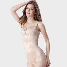 妃孕宝 新款收腹腰产后减肚子无痕美体束身内衣超薄透气连体塑身衣 FYB4050