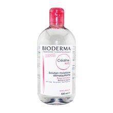 【法国】Bioderma贝德玛 舒妍温和保湿卸妆水500ml 粉瓶