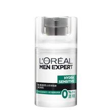 欧莱雅 男士舒润强肤滋润乳 50ml 缓解皮肤发痒 泛红 干燥 抵抗PM2.5颗粒附着