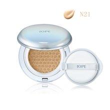 韩国 IOPE亦博气垫BB霜+替换装 N21 SPF50自然色(15g*2)