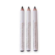 【3支】资生堂(SHISEIDO)六角眉笔(1#黑色+ 2#深棕色+ 4#灰色)