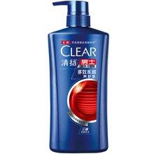 清扬男士去屑洗发露多效水润养护型蓝瓶CM(700ml)