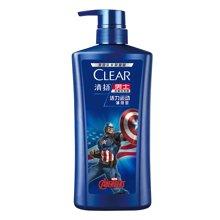 清扬男士去屑洗发露活力运动薄荷型蓝瓶(700ml)