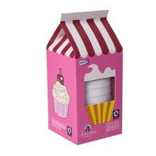 包邮正品Roomfun美国房趣创意8只装粉色蛋糕系列超薄延迟安全套避孕套惊喜礼品