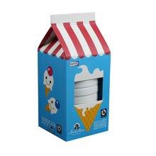 包邮正品Roomfun美国房趣创意8只装蓝色蛋糕系列超薄延迟安全套避孕套惊喜礼品