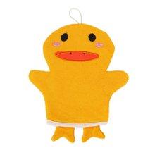 姣兰 沐浴擦 可爱儿童卡通动物造型浴擦 洗浴棉 搓澡巾