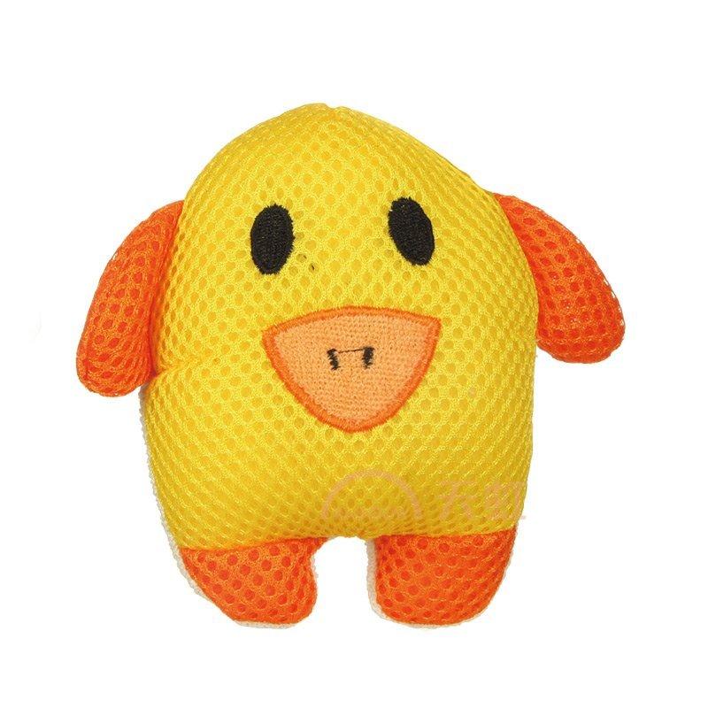 姣兰 沐浴擦 可爱儿童卡通动物造型浴擦 洗浴棉 搓澡巾-黄色小猪