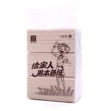泉林本色秸秆面巾纸(140mmx188mm*170抽*3包)
