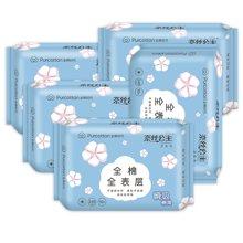 全棉时代 奈丝公主全棉棉爽日用超吸卫生巾5包组合800-001758-01(10片)