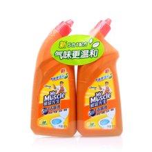 威猛先生洁厕液(柠檬香草)双包装(600g*2)