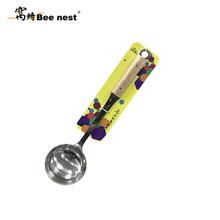 窝蜂蜂羽铲勺系列-蜂羽木柄勺