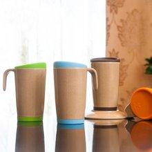 美国HUSKSWARE 马克杯水杯隔热带盖随手杯子创意情侣咖啡杯