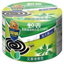 超威蚊香(艾草清香型)40盘(620g)