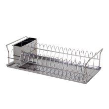 雅客集不锈钢碗盘架ML-14082厨房置物架碗筷沥水架