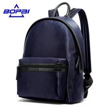博牌 新款男士双肩包电脑包尼龙休闲户外牛津布运动旅游背包11-69201