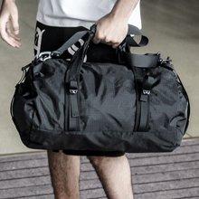 香炫儿XIASUAR 男健身包折叠新款圆筒包挎包旅行袋运动男包休闲包可折叠式单肩包
