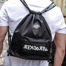香炫儿XIASUAR 束口袋抽绳双肩包男运动健身包户外旅行背包女轻便学生书包