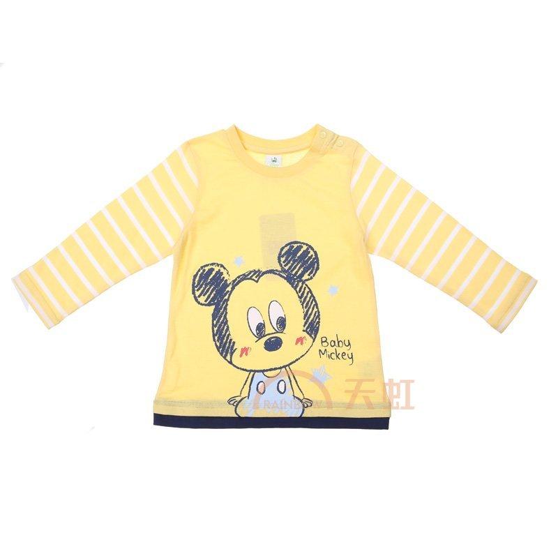 孕妇护理 婴幼服装 上装 迪士尼 迪士尼男婴幼儿针织休闲服o741010208