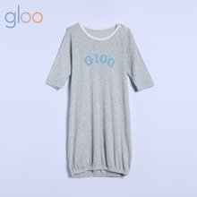 g100寄意百婴儿夏季薄款长袖睡袋新生儿童装透气网眼空调防踢被