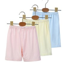 【COTTONSHOP棉店】纯色两用裆短裤