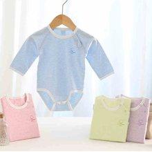 【Cottonshop棉店】反季特价婴幼儿服装宝宝连体衣小童爬爬服3-6-9个月家居服 舒适包屁衣